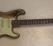 Fender Monster Relic Rory Gallagher Replica