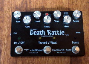 Toadworks Death Rattle dual overdrive